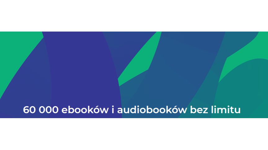 60000 ebooków i audiobooków
