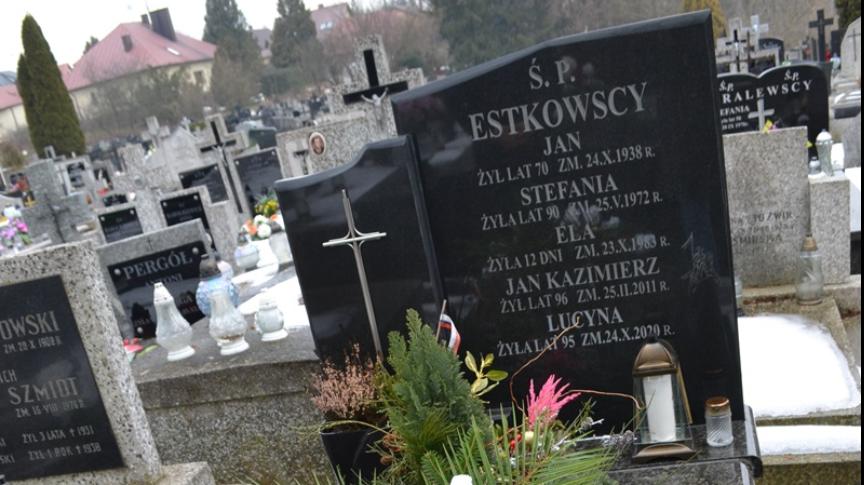 Grób ppkł Jana Kazimierza Estkowskiego
