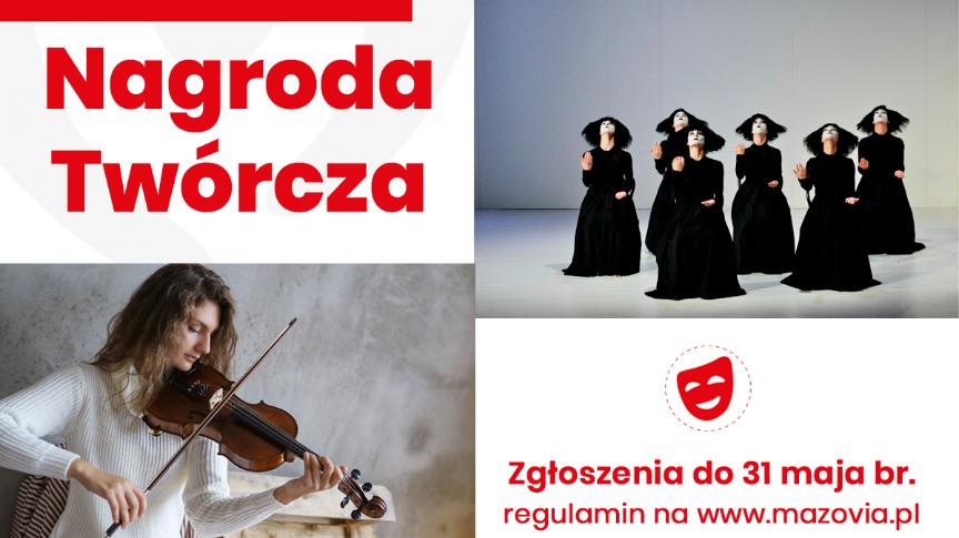 Samorząd Mazowsza doceni młodych artystów!